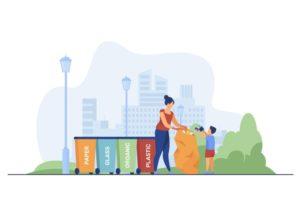 Утилизация отходов – общество потребления