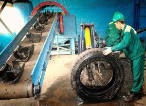 Переработка шин – процесс, этапы