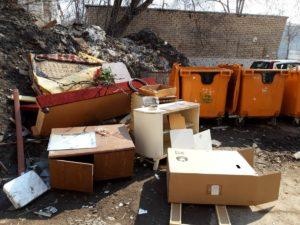 Крупногабаритный мусор – что должен его вывозить?